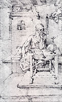 Saint Jerome In His Study, Without Cardinal-s Robes, 15, durer
