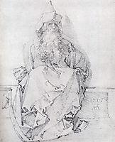 Seated Prophet, 1517, durer