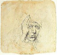 Self-Portrait with a wrap, 1492, durer
