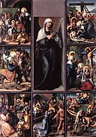 The Seven Sorrows of the Virgin, 1496, durer
