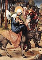 The Seven Sorrows of the Virgin: The Flight into Egypt, 1496, durer