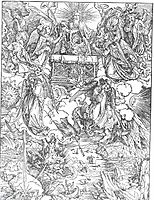 The Seven Trumpets Are Given to the Angels, 1498, durer