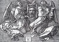 Sudarium Displayed By Two Angels, 1513, durer