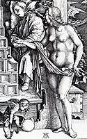 The Temptation of the Idler, 1498, durer