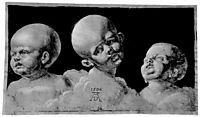 Three children-s heads, durer