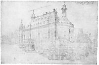 The town hall in Aachen, durer