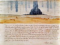 Traumgesicht. Dürer dokumentiert einen seiner Albträume, 1525, durer