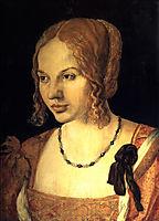 Portrait of a Young Venetian Woman, 1505, durer