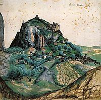 View of the Arco Valley in the Tyrol, 1495, durer