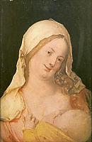 Virgin Suckling the Child, 1503, durer