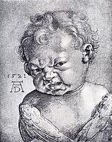 Weeping Cherub, 1521, durer