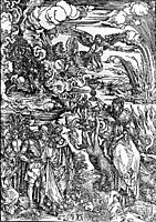 The Whore of Baylon, 1498, durer