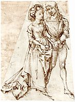 Young couple, durer