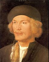 Young Man, 1507, durer