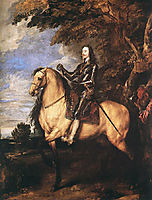 Charles I on Horseback, 1635, dyck