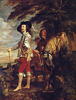 Charles I, King of England at the Hunt, 1635, dyck