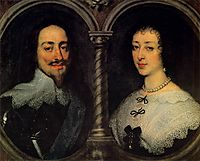 Charles I of England and Henrietta of France, c.1632, dyck