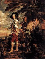 Charles I, King of England at the Hunt, c.1635, dyck