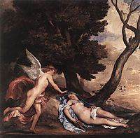 Cupid and Psyche, 1639-1640, dyck