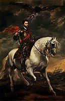 Emperor Charles V on Horseback, 1620, dyck