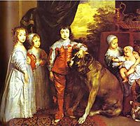 The five eldest children of Charles I, 1637, dyck