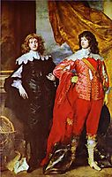 George Digby, 2nd Earl of Bristol and William Russell, 1st Duke of Bedford, 1637, dyck