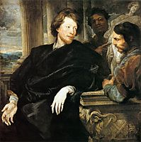 George Gage with Two Men, 1623, dyck