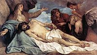 The Lamentation of Christ, 16, dyck
