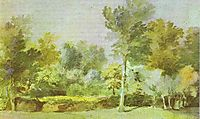 A Meadow, Surrounded by Trees, 1635, dyck
