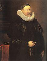 Portrait of Adriaen Stevens, 1629, dyck