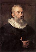 Portrait of the Artist Marten Pepijn, 16, dyck
