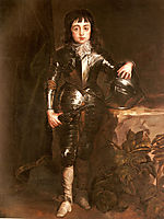 Portrait of Charles II When Prince of Wales, 16, dyck