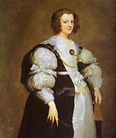 Portrait of Dona Polyxena Spinola Guzm de Lagan`s, c.1630, dyck