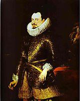Portrait of Emmanuel Philibert, 1624, dyck