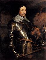 Portrait Of Frederik Hendrik, 1631-1632, dyck
