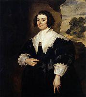 Portrait of Isabella van Assche, Wife of Justus van Meerstraten (d.1639) 1634 35 (oil on canvas), 1635, dyck
