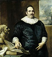 Portrait of Justus van Meerstraeten, 1635, dyck