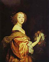 Portrait of Lady d Aubigny, 1638, dyck