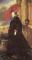 Portrait of Marchesa Elena Grimaldi, wife of Marchese Nicola Cattaneo, 1623, dyck