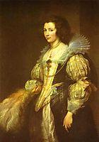 Portrait of Maria Louisa de Tassis, c.1630, dyck