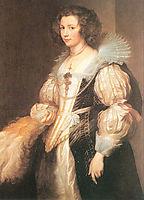 Portrait of Maria Lugia de Tassis, 1629, dyck
