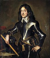 Portrait of Prince Charles Louis, Elector Palatine, 1641, dyck