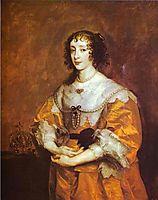 Queen Henrietta Maria, 1635, dyck