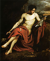 Saint John the Baptist in the Wilderness, 16, dyck
