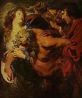 Silenus Drunk, c.1621, dyck