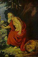 St Jerome, dyck