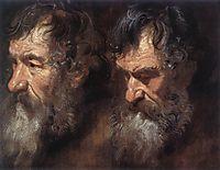 Studies of a Man-s Head, 16, dyck
