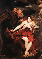 Susanna and the Elders, 1621-1622, dyck