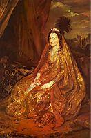 Teresia, Lady Shirley, 1622, dyck