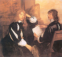 Thomas Killigrew and William, Lord Crofts, 1638, dyck